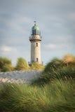Warnemunde-Leuchtturm Stockfoto