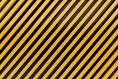 Warnen Sie Zeichenabstellgleisseitenlinieplanmetallmaterial backgroun Lizenzfreie Stockfotos