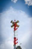 Warnende Turmsprecher lizenzfreies stockbild