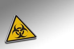 Warnendes Biohazard Lizenzfreies Stockbild