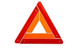 Warnendes Dreieck Stockfotos