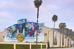 Warner- Bros.film-Studio in Burbank, CA Stockfotografie
