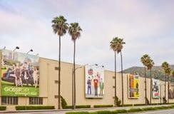 Warner Bros. Film Studio in Burbank, California stock image