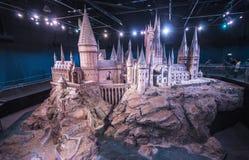 Warner Bros. Studios, Leavesden - UK. Film set of Harry Potter film series. Warner Bros. Studios, Leavesden - Studio Tour - England (UK Royalty Free Stock Images