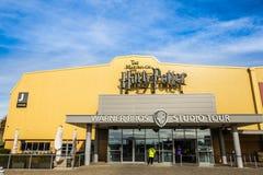 Warner Brothers Studio turnerar 'danandet av Harry Potter', royaltyfri fotografi