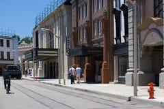 Warner Brothers Studios i Burbank Arkivfoto