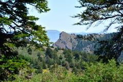 Warner góry, Modoc okręg administracyjny, Kalifornia Obrazy Royalty Free