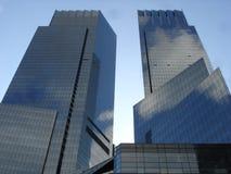 Warner-Kontrollturm in New York Stockbilder