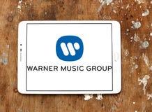Warner Music Group-embleem Stock Fotografie
