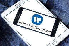 Warner Music grupy logo Fotografia Stock