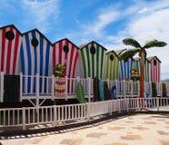 Warner parka plaża Obraz Royalty Free