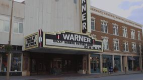 Warner Theatre (1 of 5). A view or scene of Theater stock footage