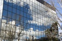 WarnerCenter办公楼31冬天 免版税库存照片
