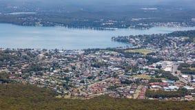Warners-Bucht - Newcastle Australien lizenzfreies stockbild