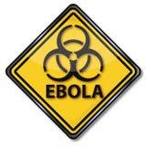 Warning against Ebola Stock Images