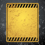 Warning background Royalty Free Stock Photography