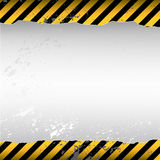 Warning background. Danger warning themed torn wallpaper Royalty Free Stock Photos