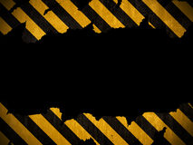 Warning background Stock Photo