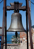 Warning bell on Malcesine Royalty Free Stock Photos