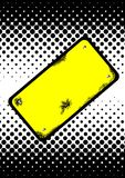 Warning board vector Royalty Free Stock Photography