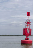 A warning buoy Stock Photos