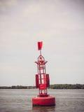 A warning buoy Stock Image