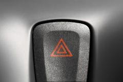 Warning button Stock Photo