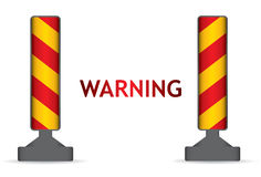 Warning column Royalty Free Stock Image