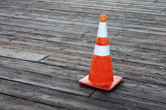 Warning Cone Stock Image