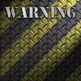 Warning Construction Background Royalty Free Stock Photos