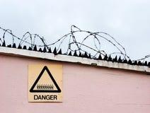 Warning of danger Royalty Free Stock Image