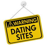 Warning about Dating Sites Royalty Free Stock Images