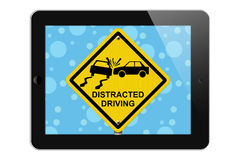 Warning of Distracted Driving Stock Photos