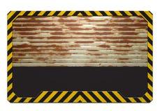 Warning frame Stock Photo