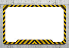 Warning frame Stock Photo
