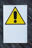 Generic Danger Warning Stock Image