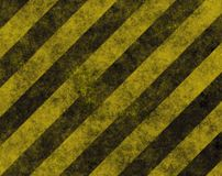Warning Hazard Road Danger Background stock photography