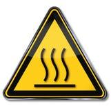 Warning Hot Surface Royalty Free Stock Image