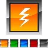 Warning icons. Stock Photo