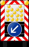 Warning Lamp, Flash, Sign Royalty Free Stock Photo