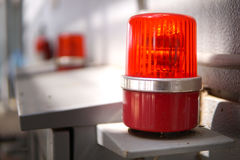 Warning light Stock Photos