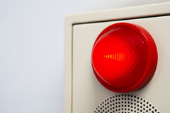 Warning light Stock Images