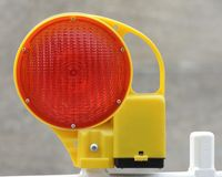 Warning light Stock Photo