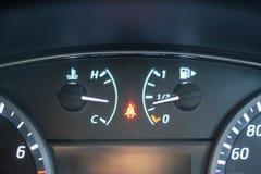 Warning light sign of seat belt. Warning light  sign of seat belt on car dashboard Royalty Free Stock Image