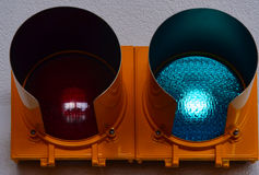 Warning lights Stock Image