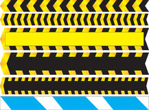 Warning lines Royalty Free Stock Images