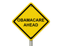 Warning about Obamacare Royalty Free Stock Photo
