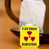 Warning Radiation Stock Image