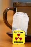 Warning Radiation Stock Photos