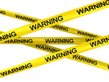 Warning ribbons Stock Image